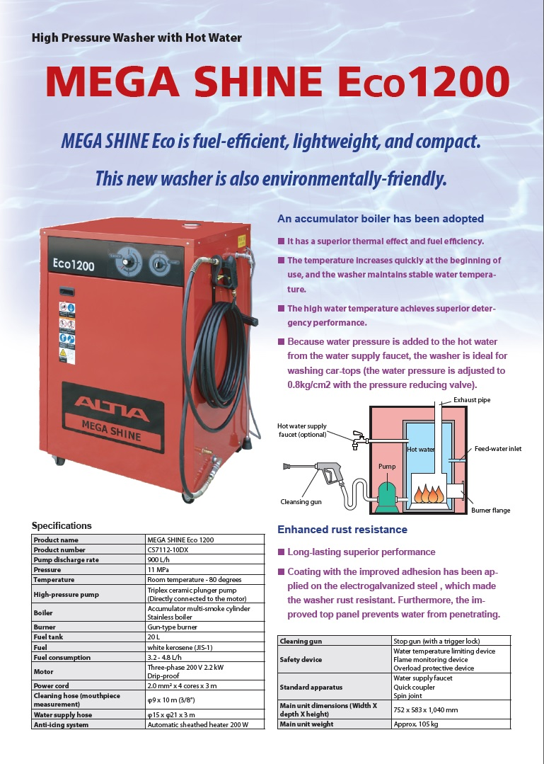 MEGA SHINE Eco(CS7112)